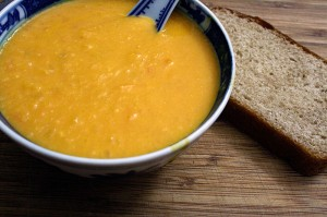 Roasted Pumpkin & Tomato Soup