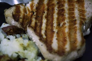 Lemon-pepper Yellowfin Tuna